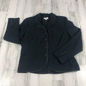Isaac Mizrahi Target black blazer size 18